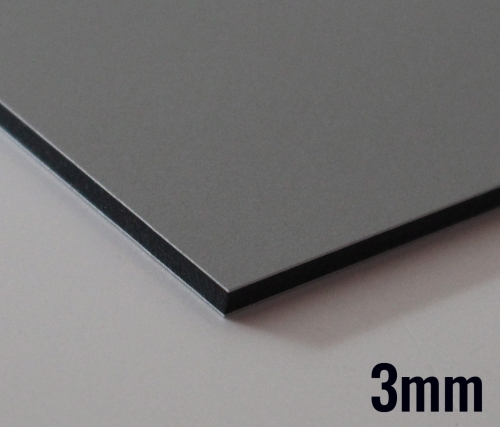 p yta dibond etalbond srebrny mat szczotk 3mm zam w. Black Bedroom Furniture Sets. Home Design Ideas